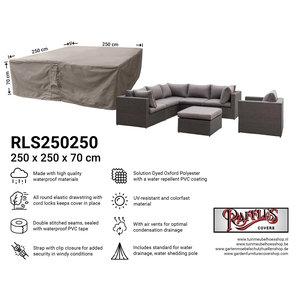 Hoes voor loungeset, 250 x 250 H: 70 cm
