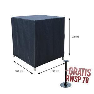 Hoes voor loungestoel, 100 x 95 H: 72 cm