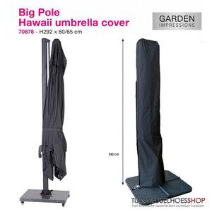 Rechte parasolhoes voor zweefparasol, H: 292 cm x 60/65 cm