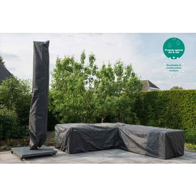 Garden Impressions Beschermende tuinmeubelhoes voor tuintafel, 230 x 95 H: 70 cm