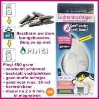 Pingi XL Luchtontvochtiger, herbruikbaar