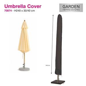 Hoes voor gewone parasol, H: 240cm