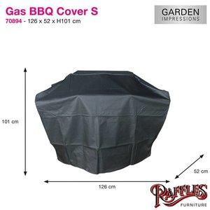 Beschermhoes voor barbecue, 126 x 52 H: 101 cm