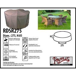 Beschermhoes voor ronde tuinset, Ø 275 cm H: 85 cm