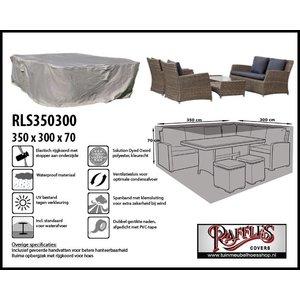 Beschermhoes loungemeubels, 350 x 300 H: 70 cm