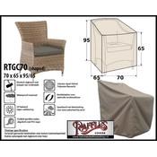 Raffles Covers Tuinstoel afdekhoes 70 x 65 H: 95/65cm