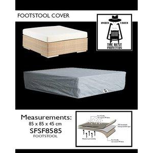 Hoes voor voetenbank loungeset, 85 x 85 H: 45 cm
