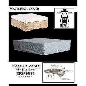 Beschermhoes voor voetenbank, 95 x 95 H: 45 cm