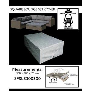 Loungeset afdekhoes, 300 x 300 H: 70 cm