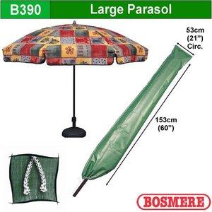 Hoes voor parasol, H: 153 cm