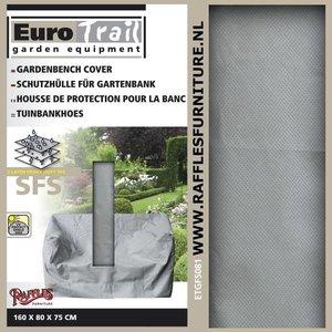 Hoes voor tuinbank, 160 x 75 H: 80 cm