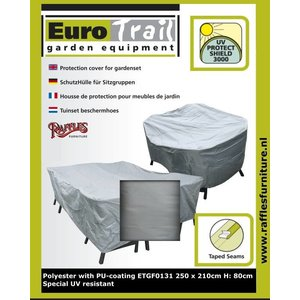 Tuinset hoes, 250 x 210 H: 80 cm