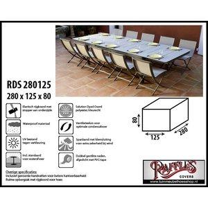 Hoes voor tafel met stoelen, 280 x 125 H: 80 cm