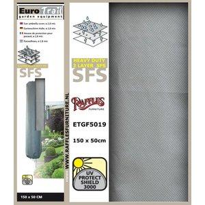 Hoes voor een muurparasol, H: 150 cm