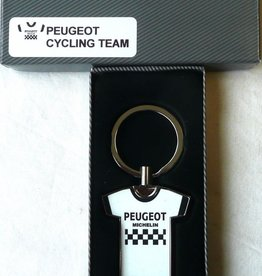 Bianchi Peugeot cycling team Key ring