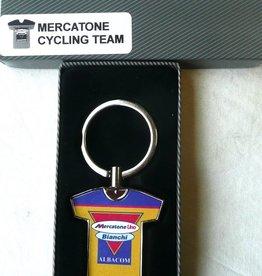 Bianchi Team Mercatone Uno Key Ring
