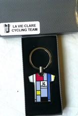Bianchi Team La Vie Clare Key Ring