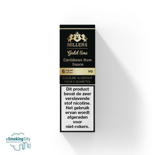 Millers Juice Millers Gold Carribean Rum Sauce 100%VG