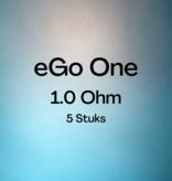 Joyetech Joyetech  eGo One 1.0 ohm coil ( 5 Stuks )