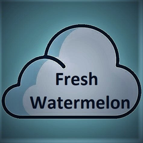 Liquida Liquida, Fresh Watermelon 6MG