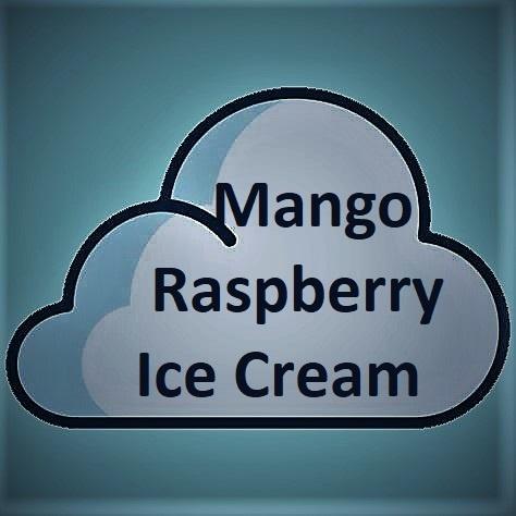 Double Drip Double Drip - Mango Raspberry Ice Cream