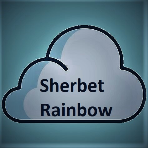 Double Drip Double Drip - Sherbet Rainbow