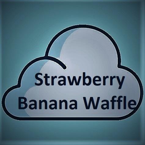 Double Drip Double Drip - Strawberry Banana Waffle