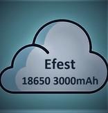 Efest 18650 Batterij  (3000mAh) 35A