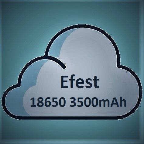 Efest Efest 18650 Batterij (3500mAh) 20A