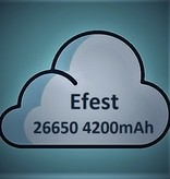 Efest Efest 26650 Batterij (4200mAh) 50A