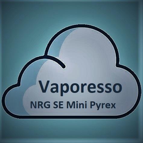 Vaporesso Vaporesso NRG SE Mini Tank Pyrex Glass 2ML