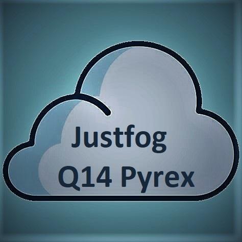 JUSTFOG Justfog Pyrex Glass Q14