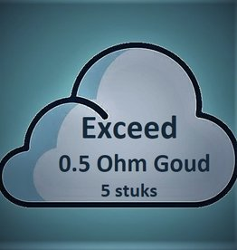 Joyetech Joyetech EX Exceed Coils - Goud (0.5 Ohm) (5 stuks)
