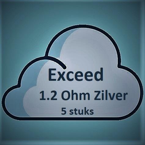 Joyetech Joyetech EX Exceed Coils - Zilver (1.2 Ohm) (5 stuks)