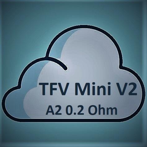 Smok SMOK TFV Mini V2 Coils - A2 Dual Coil - 0.2 Ohm-Stainless Steel