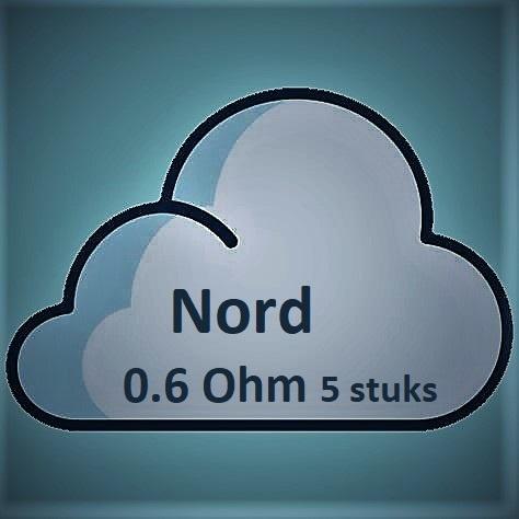 SMOK - Nord Coil 0.6 Ohm (5 stuks)