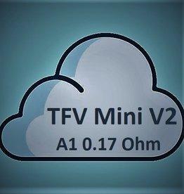 Smok SMOK TFV Mini V2 Coils - A1 Single Coil - 0.17 Ohm-Stainless Steel