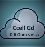 Vaporesso Vaporesso ccell-gd coil 0.6Ohm ( 5 Stuks )
