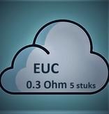 Vaporesso Vaporesso EUC coil (0.3 Ohm) ( 5 Stuks )