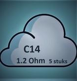 Justfog C14 Heating Unit (1.2 Ohm) (5 stuks)