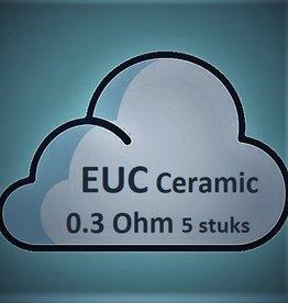 Vaporesso Vaporesso EUC Ceramic 0.3 ( 5 Stuks )