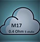 Smok SMOK M17 Coils - 0.4 Ohm (5 St.)