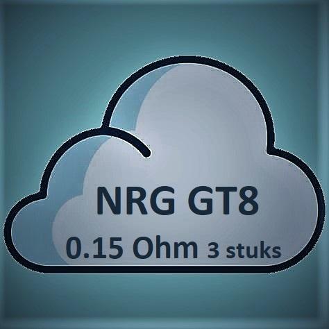 Vaporesso Vaporesso NRG GT8 Core Coils - 0.15Ohm (3 stuks)