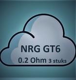 Vaporesso Vaporesso NRG GT6 Core Coils - 0.2Ohm (3 stuks)
