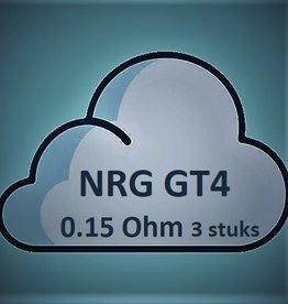 Vaporesso Vaporesso NRG GT4 Core Coils - 0.15Ohm (3 stuks)