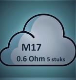Smok SMOK M17 Coils - 0.6 Ohm (5 St.)