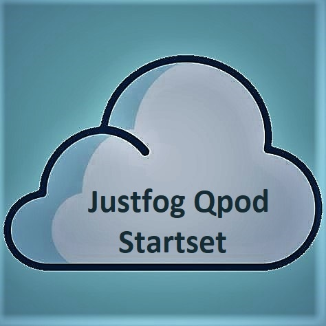 JUSTFOG Justfog Qpod Startset - 900mAh 1.9ML