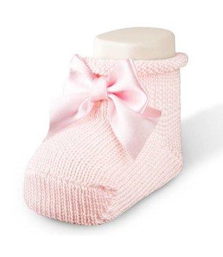 CARLOMAGNO - Socks Baby Kousjes Strik Roze