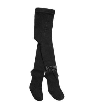 CARLOMAGNO - Socks Kousenbroek met strik Zwart