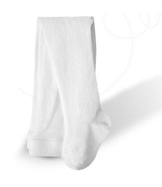 CARLOMAGNO - Socks Kousenbroek effen Wit